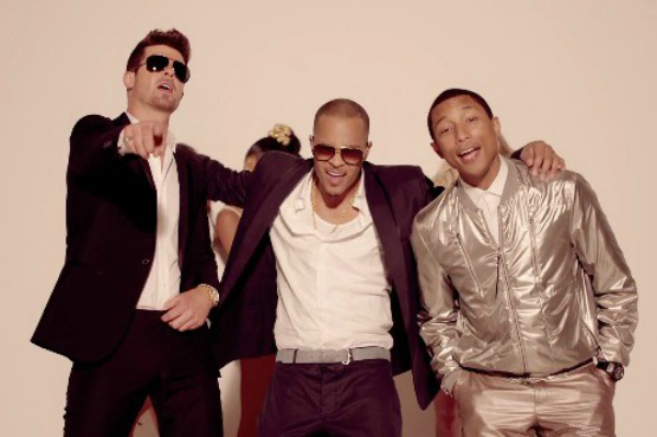 Blurred Lines' Robin Thicke, T.I., and Pharrell
