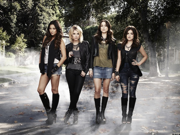 The stars of Pretty Little Liars