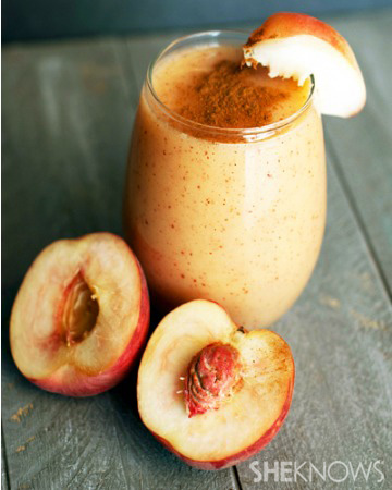 southern dessert made into a smoothie
