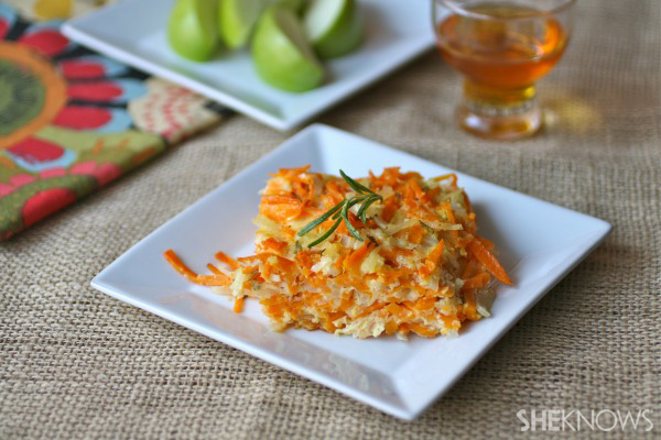 A Rosh Hashanah side dish: Sweet potato-rosemary kugel