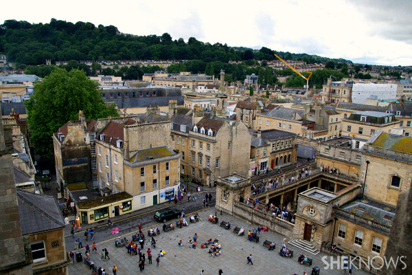 A look at the stunning English town of Bath