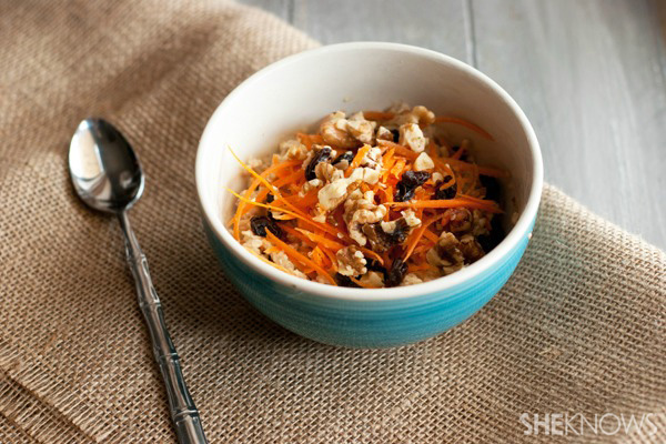 Easy carrot cake oatmeal | Sheknows.com
