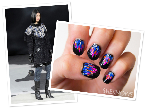 Feathered ombre nails inspired by Chanel | SheKnows.com