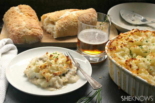 Seafood shepherd 39 s pie for Lobster shepherd s pie