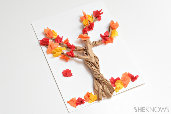 Fall Crafts For Kids Easy