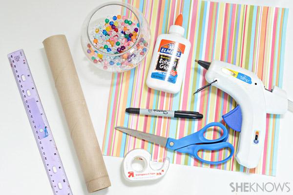 Kaleidoscope craft supplies