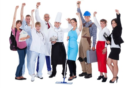 Labor Day - Variety of occupations