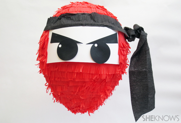 Ninja-themed party decor and more