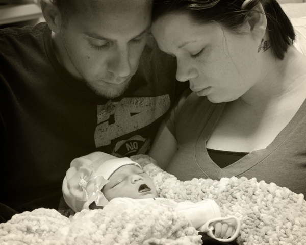 Memorial photography made priceless memories of a stillborn daughter