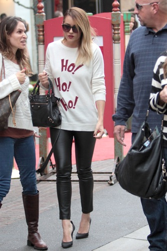 Lauren Conrad Ho! Ho! Ho! sweater