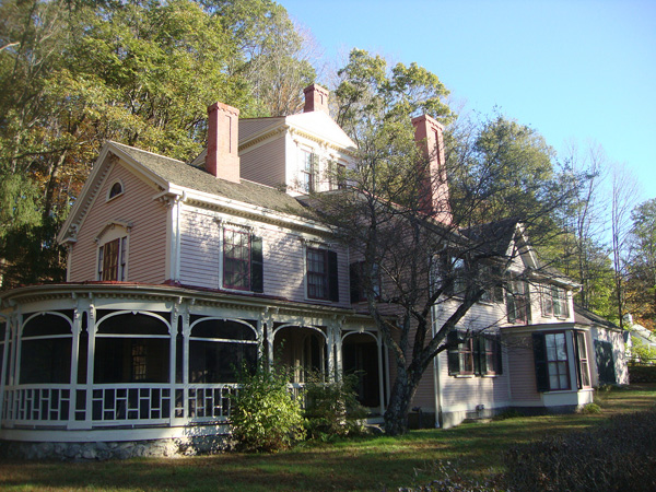 Louisa May Alcott home in Concord, Massachusetts