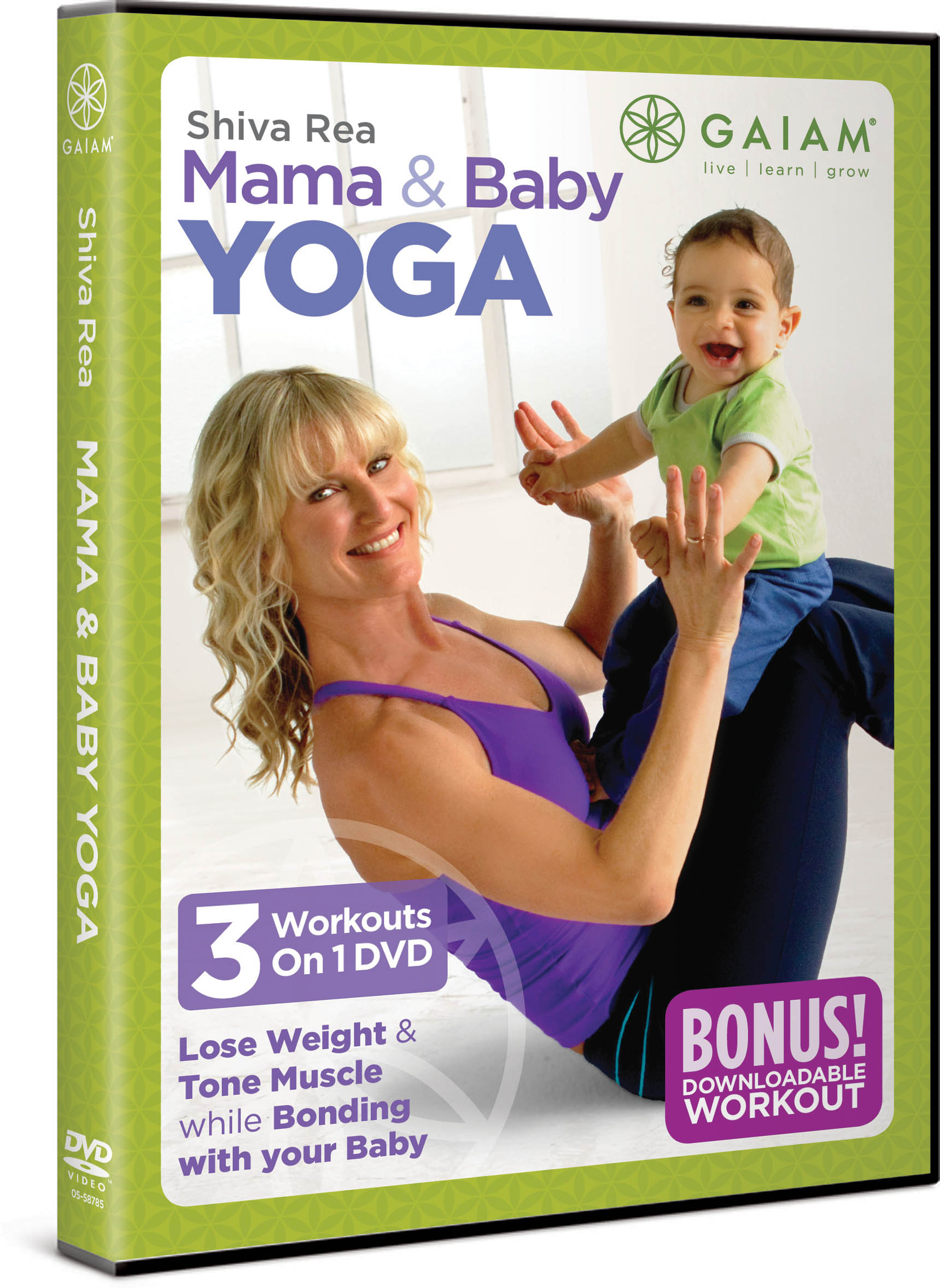 Shiva Rea's Mama and Baby Yoga