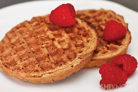 Overnight gluten-free waffles
