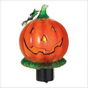 Jack-O-Lantern flicker night light