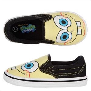SpongeBob Slip-Ons