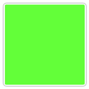Color Blocking Neon green