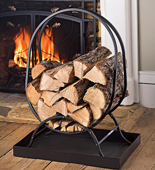 9 Stylish Ways To Organize Firewood