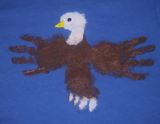 All-American eagle t-shirt
