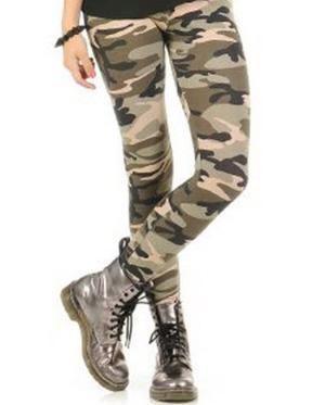 Fashion duty camo leggings