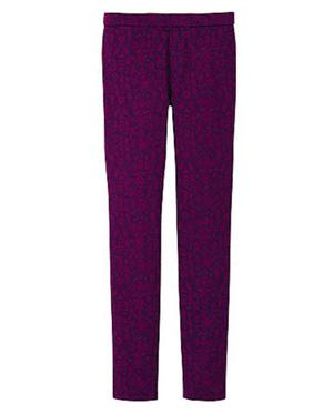 Women print leggings pant