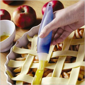 Squeeze silicone brush and baster