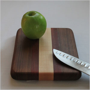 Small walnut cutting board