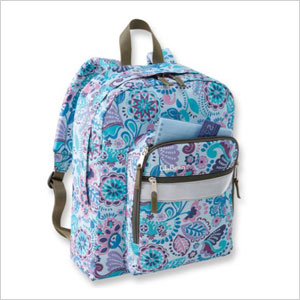 Paisley backpack
