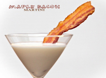 Daydreamer Desserts, Maple Bacon Martini