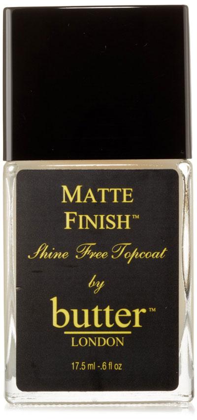 Butter London Matte Finish Shine Free topcoat polish