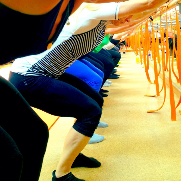 The Dailey method Barre workout