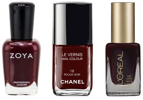 Fall nail polish trends: Newest reds