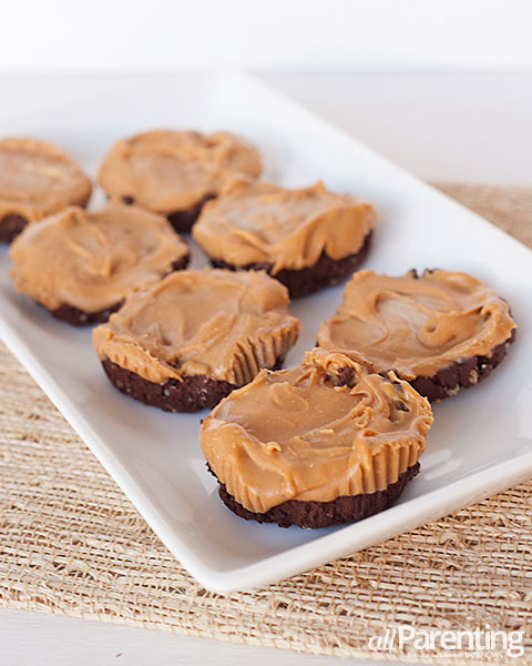 allParenting raw chocolate peanut butter cups