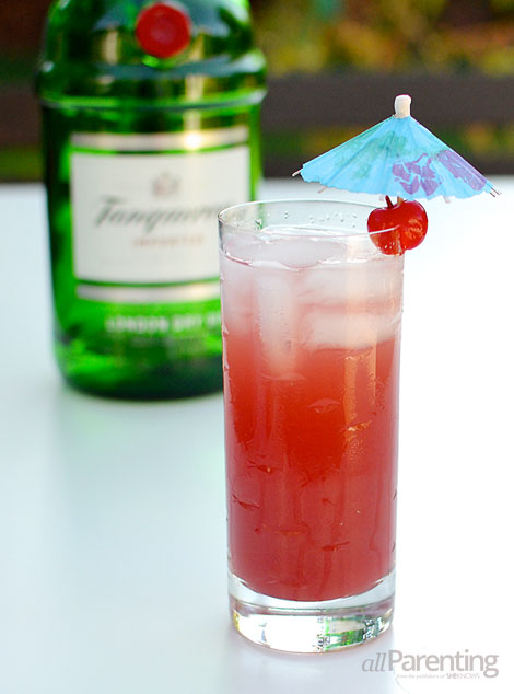 allParenting Singapore Sling cocktail