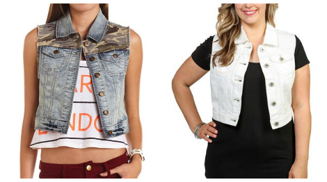 Trends: Denim Vests