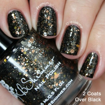 Trends: KB Shimmer glitter nails