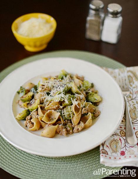 allParenting Spicy pesto pasta