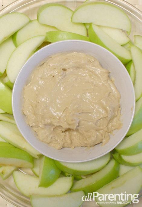 allParenting cream cheese apple dip