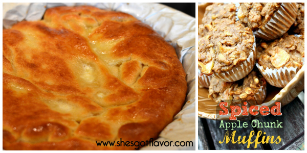 Blogger apple recipes- breakfast collage 3