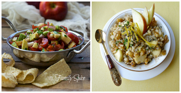 Blogger apple recipes- savory