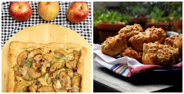 Blogger apple recipes- savory collage 2