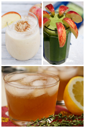 Blogger apple recipes- drinks