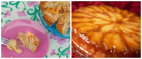 Blogger apple recipes- cakes bars and pies collage