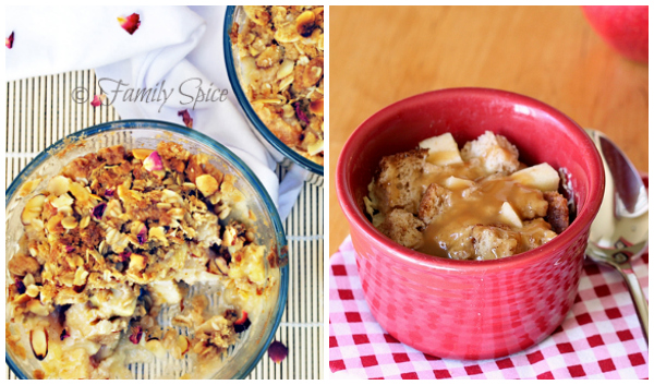 BLogger apple recipes- favorites collage