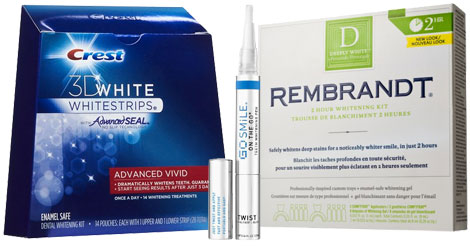 at home teeth whitening product suggestions
