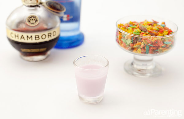 allParenting Fruity pebbles shot
