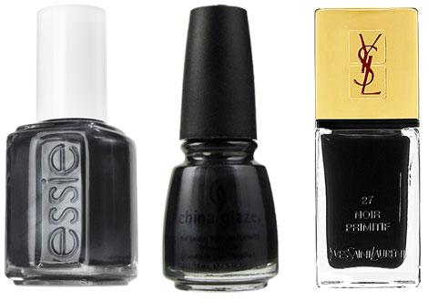 Fall nail trends- midnight nails