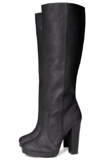 Knee-high boots
