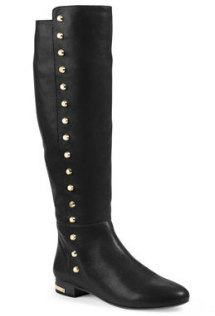 The Ailee flat studded knee boot
