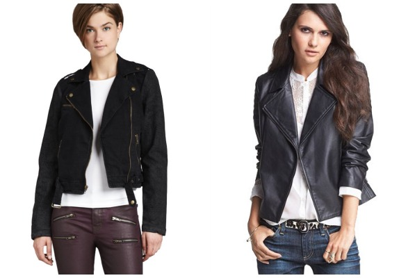 Fall coats- Modern Motorcycle collage