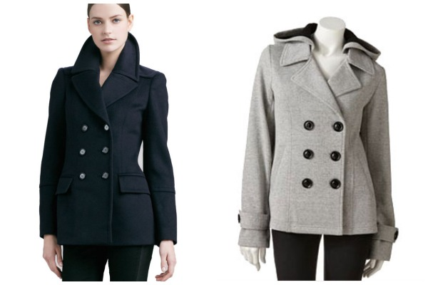 Fall coats- Preppy peacoats